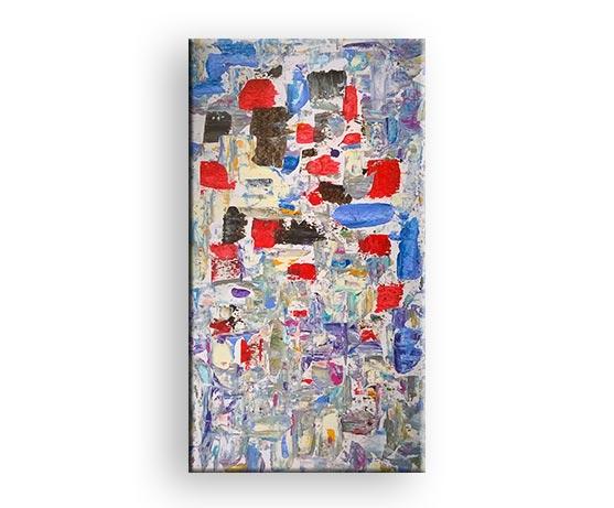 Abstrakte Impressionen - Acryl Gemälde von Charly Walter Künstler aus Villingen-Schwenningen