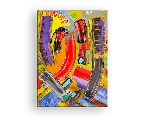 Anyway - Gemälde von Charly Walter Künstler Schwarzwald Baar Kreis