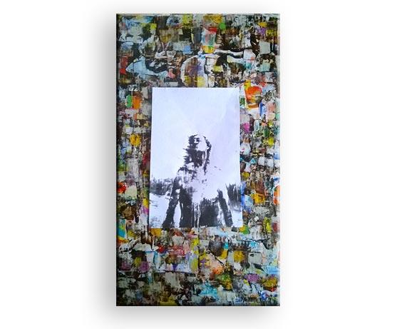 Aufbäumung - Gemälde von Charly Walter Künstler aus Villingen