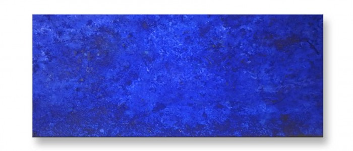 Titel Blue - Acryl Bild von Charly Walter VS-Villingen