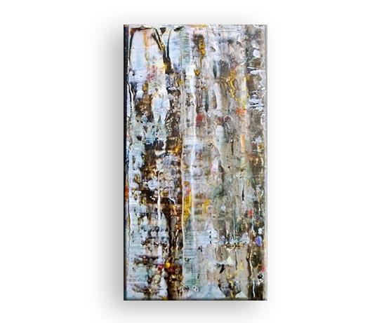 Dahinter - Acryl Gemälde von Charly Walter Künstler in Villingen