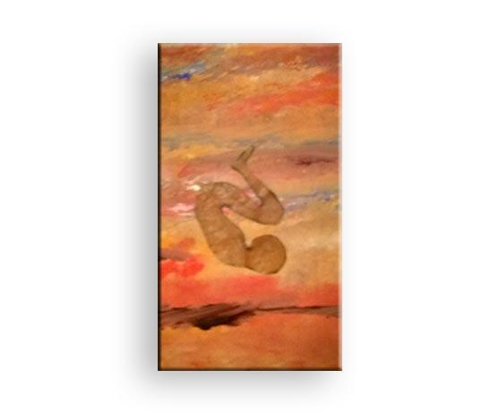 Falling Down - Gemälde von Charly Walter Künstler