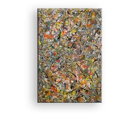 Geführtes Chaos - Acryl Gemälde von Charly Walter Künstler Villingen