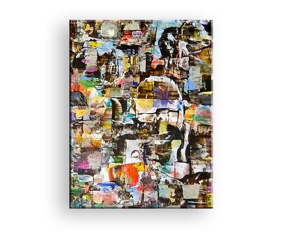 Kaleidoskop der Farben - Acryl Gemälde von Charly Walter Künstler in Villingen