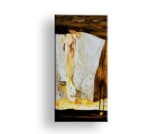 Titel Merlin - Gemälde Charly Walter Villingen-Schwenningen