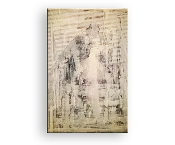 Titel Psyche - Mischtechik von Charly Walter Künstler aus Villingen