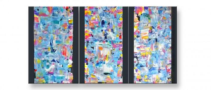 Titel Triologie - Acryl Bild von Charly Walter Villingen-Schwenningen