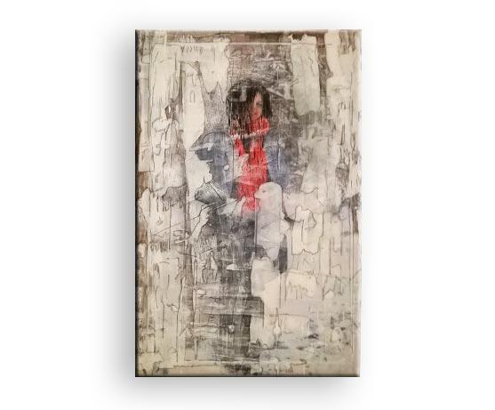 Titel Umwandlung - Acryl Bild von Charly Walter Künstler aus Villingen-Schwenningen