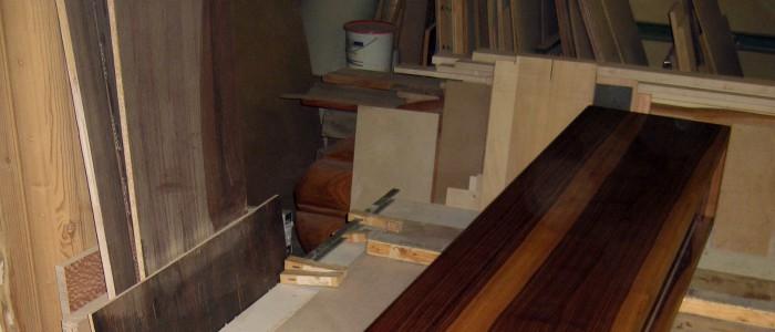 Anfertigung Sidebord / Nussbaum-Massivholz